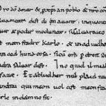 Les serments de Strasbourg (842)